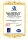 ISO9001 Certification (English)